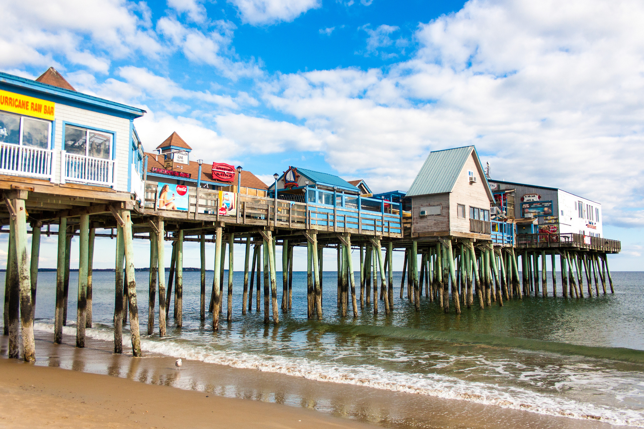 Old Orchard Beach is a must-visit on any southern Maine road trip.